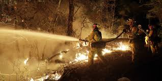 Wildfire Deaths Per Year by California Fires Firefighters Gain Ground On Historic Wildfires