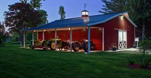house barn kits hansen pole buildings kits prices review metal building homes