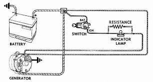 wiring diagram for early corvair conversion from generatoir to