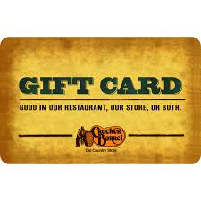 gift cards for cheap cracker barrel 25 gift card walmart