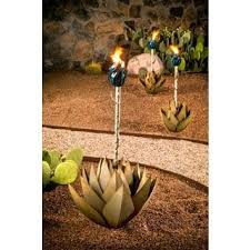 desert steel solar lights metal garden accents for less overstock com