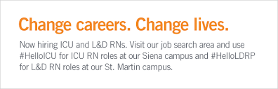 Resume For Cna Job by St Rose Dominican Careers