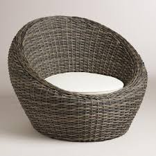 Patio Furniture World Market by All Weather Wicker Formentera Egg Outdoor Chair Weather Patios