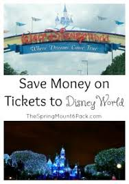 Save Money On Disney World Travel Archives The Spring Mount 6 Pack