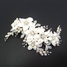 wedding hair clip bridal hair clip bridal headpiece flower headpiece wedding hair