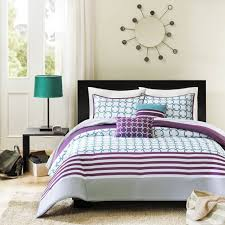 purple and black bedding sets nucleus home