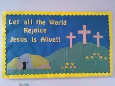 Easter Church Door Decorations by Spring Easter Bulletin Board Classroom Pinterest Easter