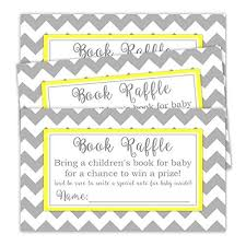 raffle baby shower book raffle tickets baby shower favor baby shower