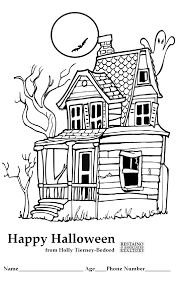 happy halloween coloring contest by holly tierney bedord