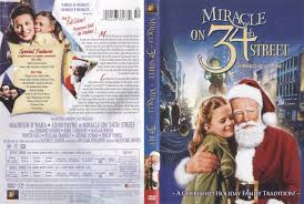 miracle on 34th street 1947 r1 movie dvd cd label dvd cover
