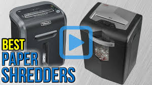 top 10 paper shredders of 2017 video review