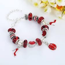 sterling silver european bead bracelet images Fashion european style sterling silver charm bracelets for girls jpg
