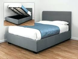 ottoman bed single ottoman bed single gray fabric ottoman grey fabric ottoman single