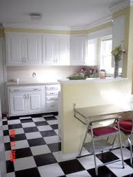 kitchen flooring black and white this or on the diagonal to