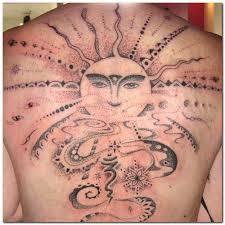 20 wonderful sun tattoos that will you shine