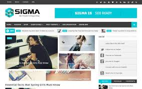 templates blogger themes 300 best free responsive blogger templates 2018 css author
