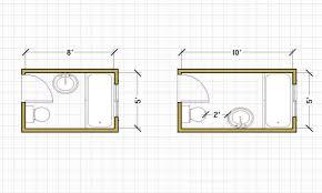bathroom floor plans mesmerizing small bathroom floor plans with shower plain design