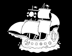 pirate ship coloring coloringcrew