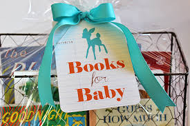 Book Gift Baskets Ink About Me Baby Shower Gift Basket