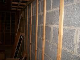 basement walls furring strips basement gallery