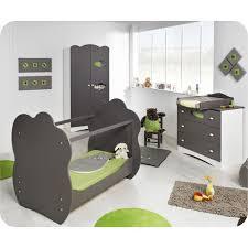 chambre bébé cdiscount eb chambre bébé complète altea taupe et p achat vente