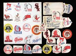 the fleer sticker project 1955 post sugar crisp cloth baseball