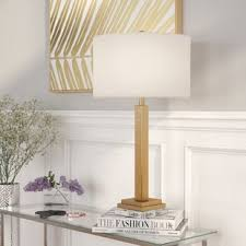 gold base table lamp wayfair
