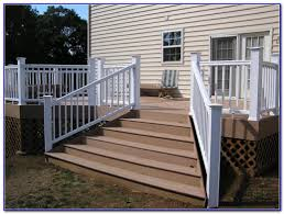 Stair Handrail Ideas Deck Stair Handrail Designs Decks Home Decorating Ideas