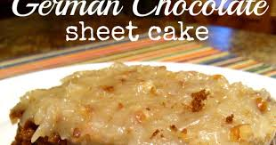 south your mouth german chocolate sheet cake