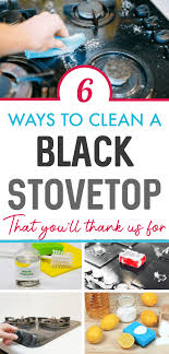 how to remove grease from the top of kitchen cabinets how to clean a black stovetop cleaning hacks household