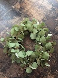 eucalyptus wreath silver dollar eucalyptus wreath bloomers