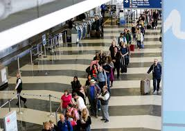 Where Is Midway Airport In Chicago On A Map by Airlines Offer Path To Shorter Security Lines For A Price
