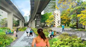miami is planning an 10 mile urban park like new york u0027s popular