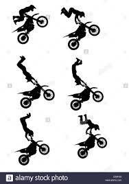 freestyle motocross videos silhouettes of a freestyle motocross rider during a stunt jump
