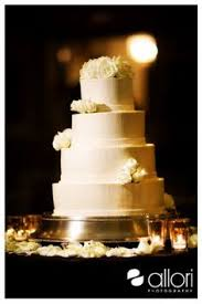 Simple Gold Floral Wedding Cake By Berghoff Berghoff