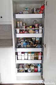 Smart Open Storage With A Custom Ikea Pantry Ikea Kitchen Renovation Cost Breakdown