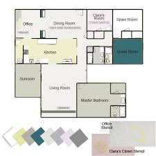 our whole house color palette house colors house and playrooms