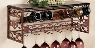 outstanding under cabinet oak wine glass rack tags under cabinet