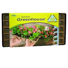 Windowsill Greenhouse Jiffy Seed Starter Greenhouse 5029 The Home Depot