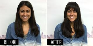 flawless fake bangs in 5 steps use bang extensions for gorgeous