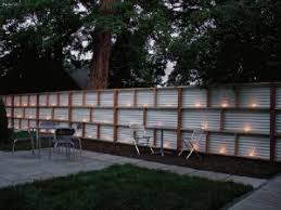 Inexpensive Backyard Privacy Ideas Wonderfull Design Inexpensive Fencing Ideas Endearing 27 Cheap Diy