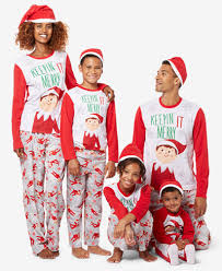 briefly stated the on the shelf family pajama sets