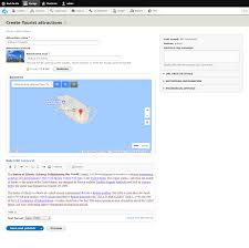 Create A Map With Pins Create A Google Map With Location Markers In Drupal 8