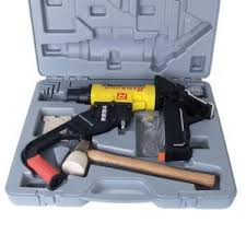 Hardwood Floor Nail Gun Bruce Bayport Oak Saddle 34 In Thick X 314 Bruce Parquet Solid