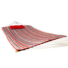 holifine hammock with cushions red green gray holifine