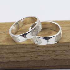 fingerprint wedding bands fingerprint rings uk tags fingerprint wedding ring sterling