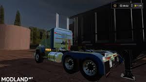 custom kenworth trucks kenworth t800 custom mod farming simulator 17