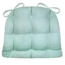 Memory Foam Dining Chair Cushion Dining Chair Pad With Ties Fritz Dark Brown Homespun