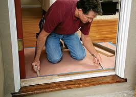 How To Make A Exterior Door Replacing A Door Threshold Homebuilding