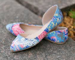 wedding shoes etsy floral wedding shoes etsy
